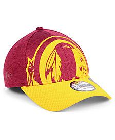 New Era Washington Redskins Oversized Laser Cut Logo 39THIRTY Cap