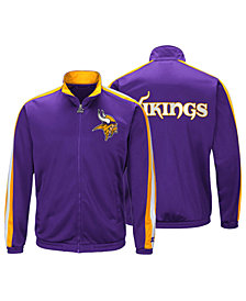 Starter Men's Minnesota Vikings The Challenger Track Jacket