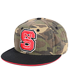 adidas North Carolina State Wolfpack Stadium Performance Camo Fitted Cap