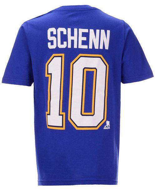 huge selection of 3a432 409a4 Brayden Schenn St. Louis Blues Player T-Shirt, Big Boys (8-20)