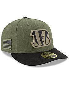 New Era Cincinnati Bengals Salute To Service Low Profile 59FIFTY Fitted Cap 2018
