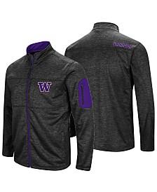 Colosseum Men's Washington Huskies Glacier Full-Zip Jacket