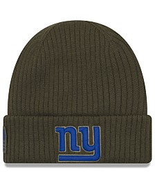New Era New York Giants Salute To Service Cuff Knit Hat
