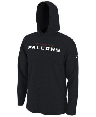 NIKE Mens T shirt Long Sleeve Dri Fit Atlanta Falcons