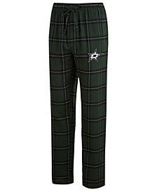 Concepts Sport Men's Dallas Stars Homestretch Flannel Pajama Pants