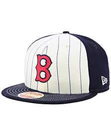 New Era Boston Red Sox Vintage Front 59FIFTY FITTED Cap