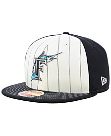 New Era Florida Marlins Vintage Front 59FIFTY FITTED Cap