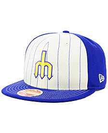 New Era Seattle Mariners Vintage Front 59FIFTY FITTED Cap