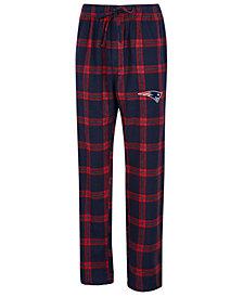 Concepts Sport Men's New England Patriots Homestretch Flannel Sleep Pants