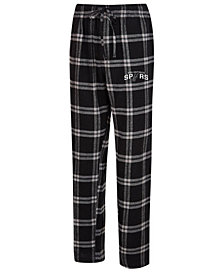 Concepts Sport Men's San Antonio Spurs Homestretch Flannel Sleep Pants