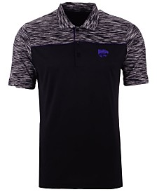 Antigua Men's Kansas State Wildcats Final Play Polo