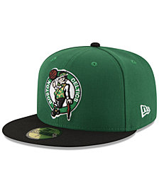 New Era Boston Celtics Basic 2 Tone 59FIFTY Fitted Cap