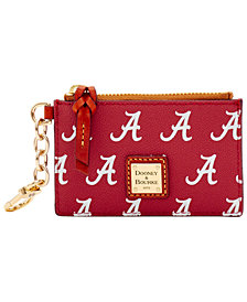 Dooney & Bourke Alabama Crimson Tide Zip Top Card Case