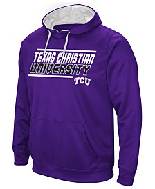 Colosseum Men's Texas Christian Horned Frogs Stack Performance Hoodie