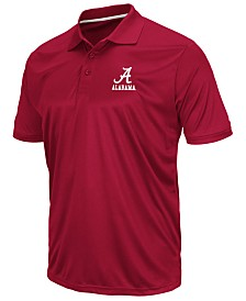 Colosseum Men's Alabama Crimson Tide Short Sleeve Polo