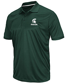 Colosseum Men's Michigan State Spartans Short Sleeve Polo