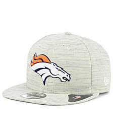 New Era Denver Broncos Luxe Gray 9FIFTY Snapback Cap