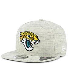 New Era Jacksonville Jaguars Luxe Gray 9FIFTY Snapback Cap
