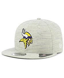 New Era Minnesota Vikings Luxe Gray 9FIFTY Snapback Cap