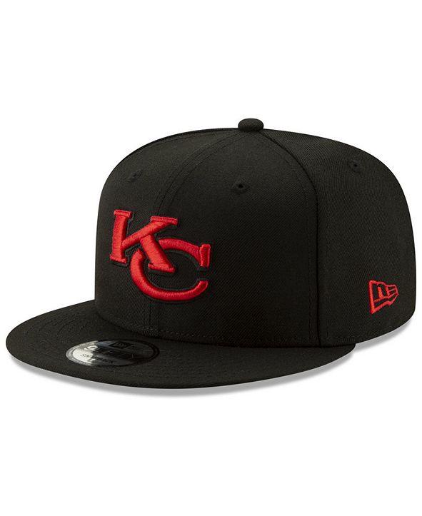 New Era Kansas City Chiefs Logo Elements Collection 9FIFTY Snapback Cap