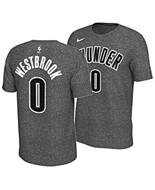Nike Men's Russell Westbrook Oklahoma City Thunder Marled Player T-Shirt