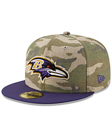 New Era Baltimore Ravens Vintage Camo 59FIFTY FITTED Cap