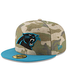 New Era Carolina Panthers Vintage Camo 59FIFTY FITTED Cap