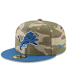 New Era Detroit Lions Vintage Camo 59FIFTY FITTED Cap