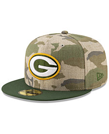 New Era Green Bay Packers Vintage Camo 59FIFTY FITTED Cap