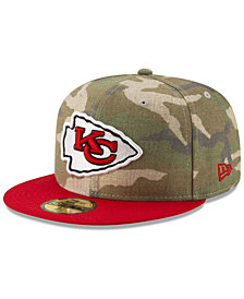 New Era Kansas City Chiefs Vintage Camo 59FIFTY FITTED Cap