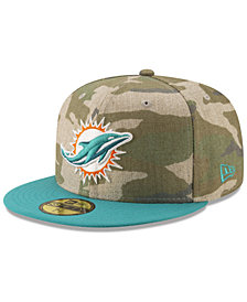 New Era Miami Dolphins Vintage Camo 59FIFTY FITTED Cap