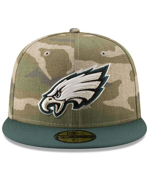 ef943542181 New Era Philadelphia Eagles Vintage Camo 59FIFTY FITTED Cap - Sports ...