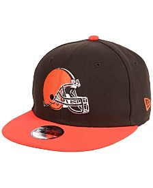 New Era Boys' Cleveland Browns Two Tone 9FIFTY Snapback Cap