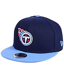 Boys' Tennessee Titans Two Tone 9FIFTY Snapback Cap