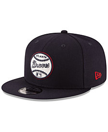 New Era Atlanta Braves Vintage Circle 9FIFTY Snapback Cap