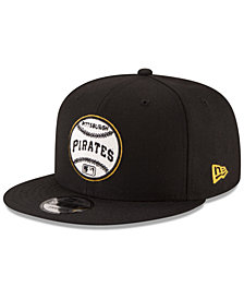 New Era Pittsburgh Pirates Vintage Circle 9FIFTY Snapback Cap