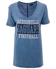 5th & Ocean Women's Jacksonville Jaguars Stacked T-Shirt