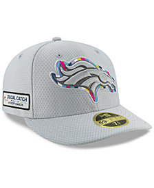 New Era Denver Broncos Crucial Catch Low Profile 59FIFTY Fitted Cap