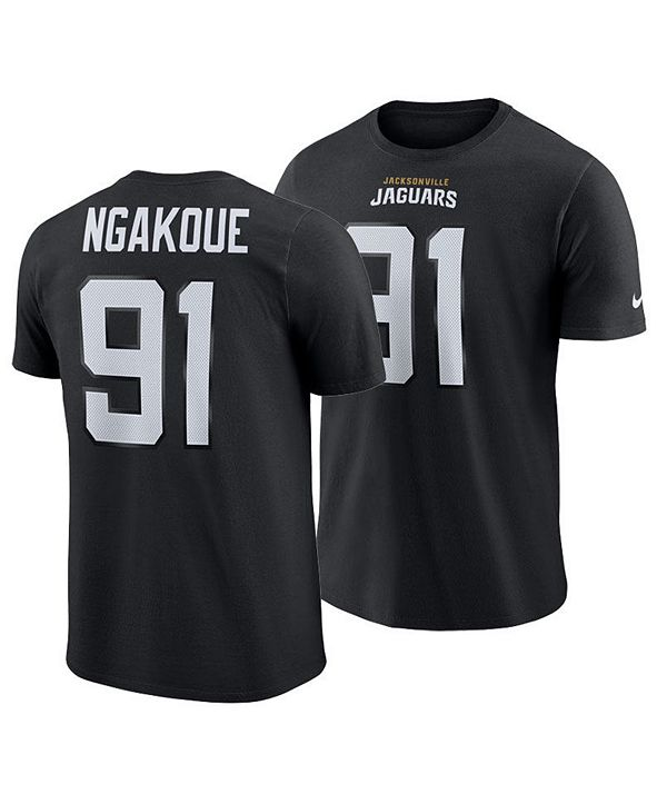 Nike Men's Yannick Ngakoue Jacksonville Jaguars Pride Name and Number Wordmark T-Shirt