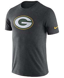Nike Men's Green Bay Packers Dri-Fit Cotton Essential Logo T-Shirt