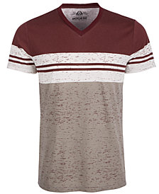 American Rag Men's Colorblocked V-Neck T-Shirt, Created for Macy's