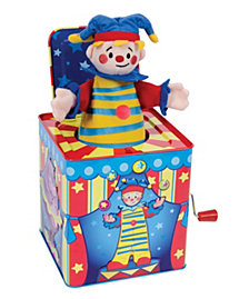 Schylling Silly Circus Jack In Box Toy