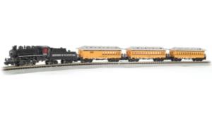 Bachmann Trains Durango And Silverton N Scale Ready To Run Electric Train Set