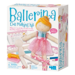 Image of 4M Ballerina Doll Making Kit