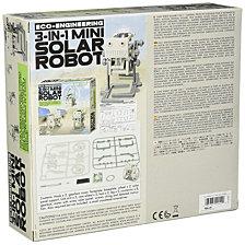 4M Green Science Eco Engineering 3 In 1 Mini Solar Robot Kit