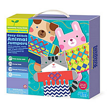 4M Easy Stitch Animal Jumpers Kit