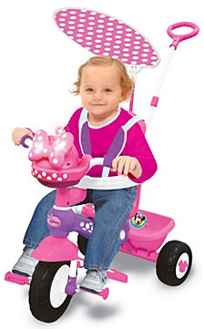 Kiddieland Disney Minnie Mouse Push N Ride Trike