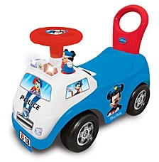 Disney Mickey Mouse My First Mickey Police Car Light And Sound Activity Ride On