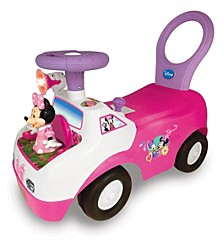 Disney Minnie Mouse Dancing Light And Sound Activity Ride On