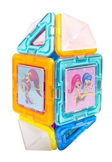 Magformers Shimmer And Shine 22 Piece Magnetic Construction Set